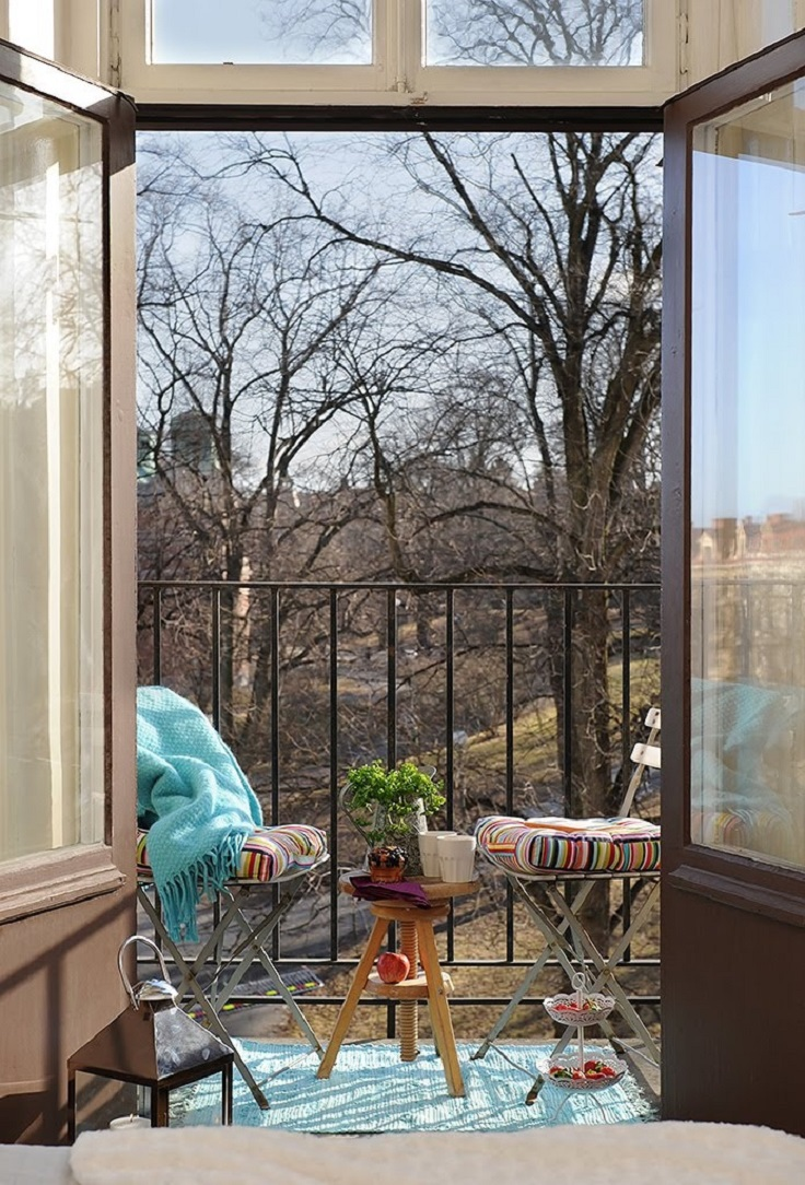 Miniature but Perfect Efektna dekoracija: Mala terasa, ali veliko uživanje