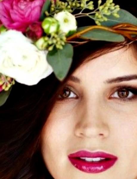 Aksesoar dana: Venac od cveća