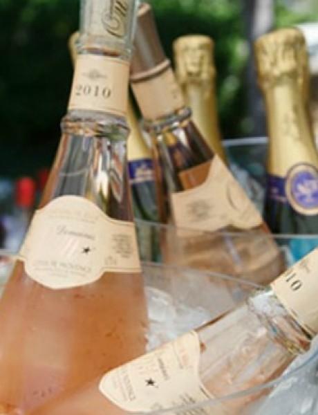 Rosé vino za divan početak braka