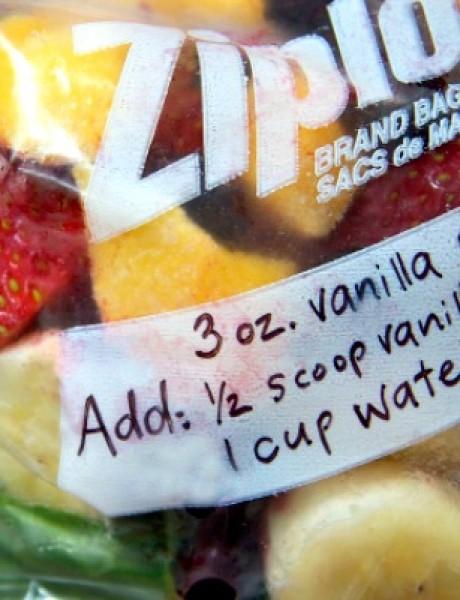 Letnja varijanta: Paketići voća i povrća za smoothie