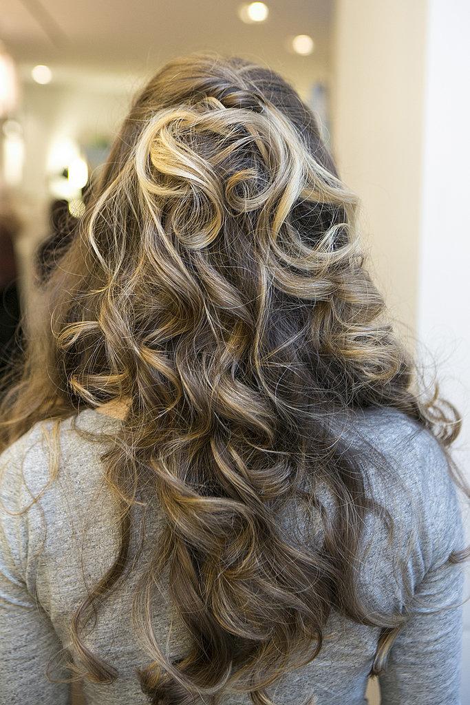 Step Seven Half Back Hair Reception Tri različite frizure za jedno venčanje