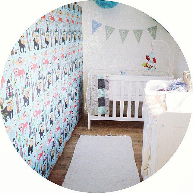 Wild Walls Vruće sa Instagrama: Moderne sobe za bebe