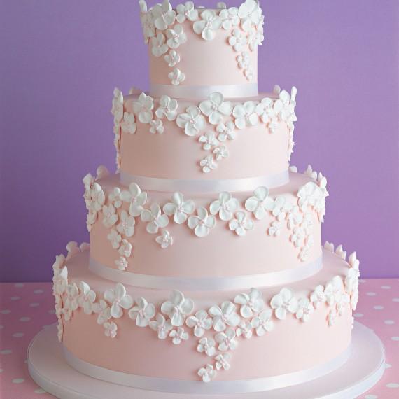 peggy porschen pink wedding cake Venčanje iz snova: Raskošne torte