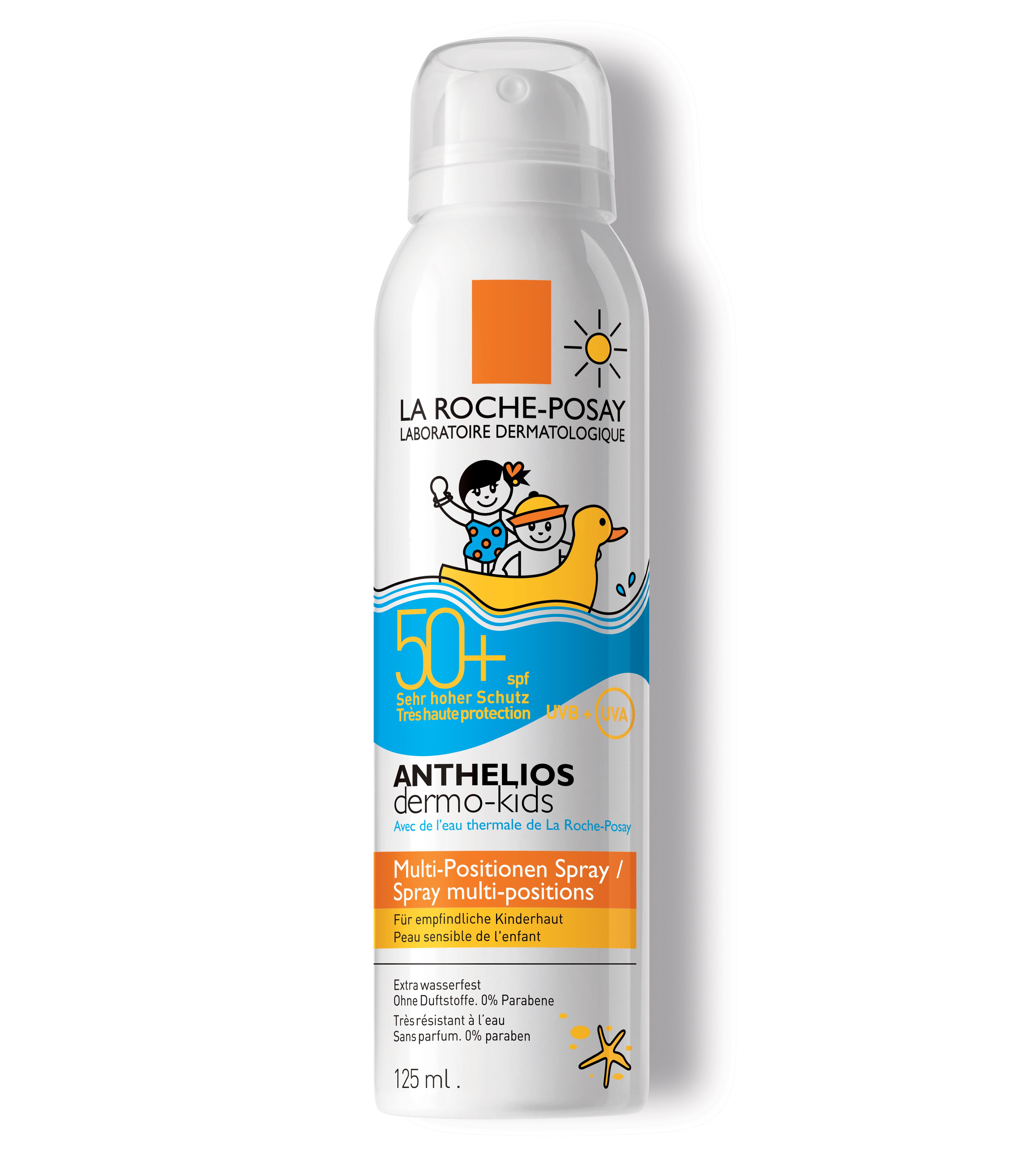 LRP ANTHELIOS KIDS Aerosol SPF50+ 125ml Termalna voda La Roche Posay: Zaštitite decu od ranog detinjstva