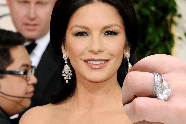 embedded Catherine Zeta Jones Engagement Ring From Michael Douglas Najskuplje vereničko prstenje poznatih ličnosti