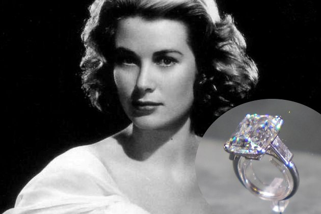 embedded Grace Kelly Engagement Ring From Prince Rainier Najskuplje vereničko prstenje poznatih ličnosti