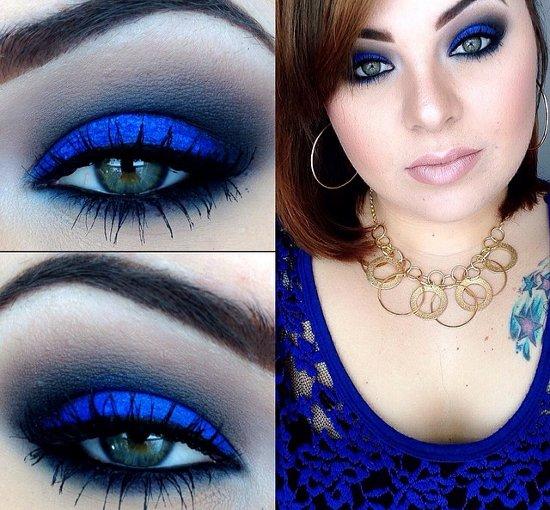 embedded blue makeup trend Kako da se našminkaš ovog leta?