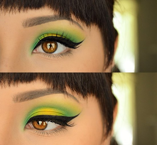embedded eyebrow makeup trend Kako da se našminkaš ovog leta?