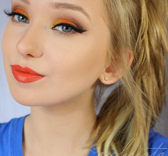 embedded orange lipstick trend Kako da se našminkaš ovog leta?
