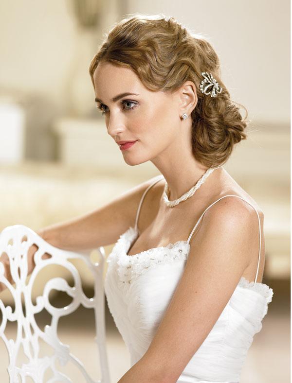 wedding hairstyles retro Frizure za šik mlade