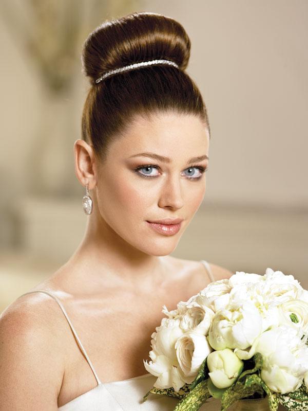 wedding hairstyles updos 2 Frizure za šik mlade