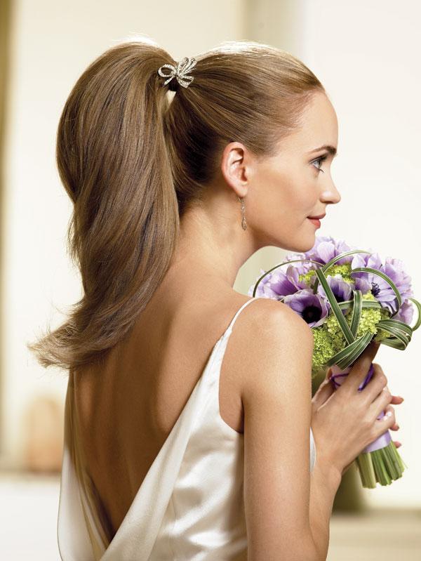 wedding hairstyles updos 3 Frizure za šik mlade