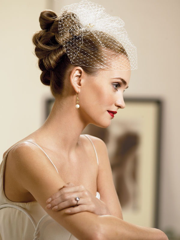 wedding hairstyles updos 4 Frizure za šik mlade