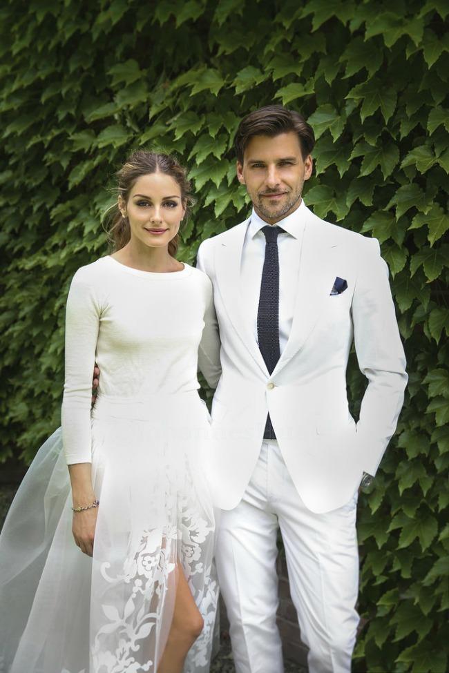 1 Po ugledu na Oliviju Palermo: Romantičan rep kao top frizura za venčanje