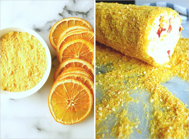 22 Pomorandže i trešnje u kombinaciji sa sirom