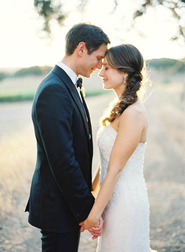3 Po ugledu na Oliviju Palermo: Romantičan rep kao top frizura za venčanje