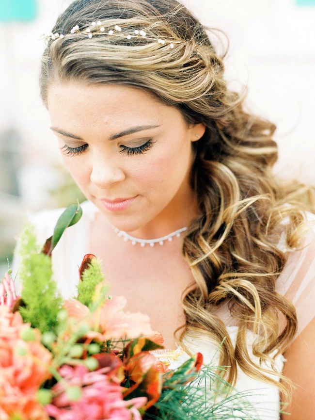 6 Po ugledu na Oliviju Palermo: Romantičan rep kao top frizura za venčanje