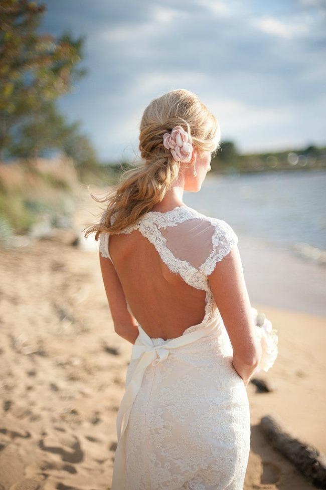 7 Po ugledu na Oliviju Palermo: Romantičan rep kao top frizura za venčanje