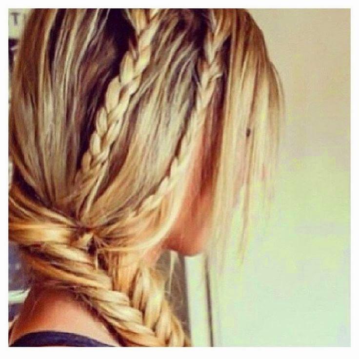 Beautiful Braids Romantične frizure: Jednostavne, a lepe pletenice