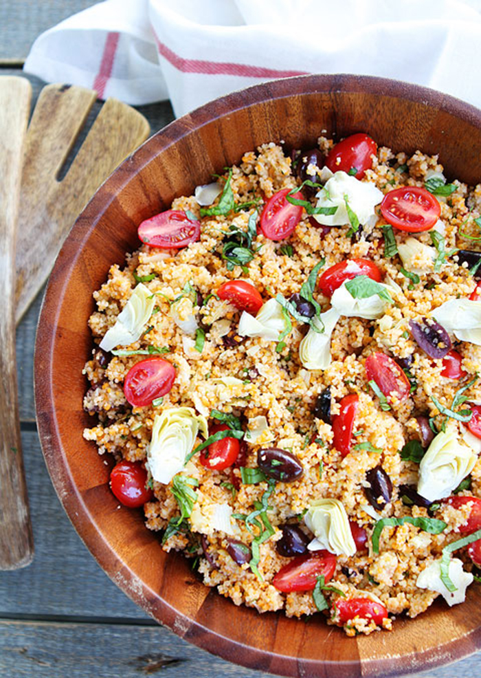 Mediterranean Couscous Salad 2 Lagana večera: Salata sa kuskusom