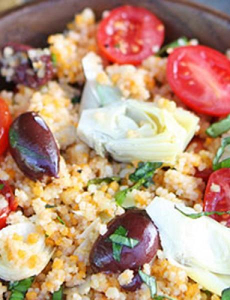 Lagana večera: Salata sa kuskusom