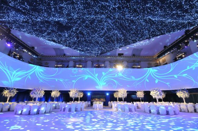 Starry Night at The Waldorf Astoria Pet neobičnih ambijenata za nesvakidašnje venčanje