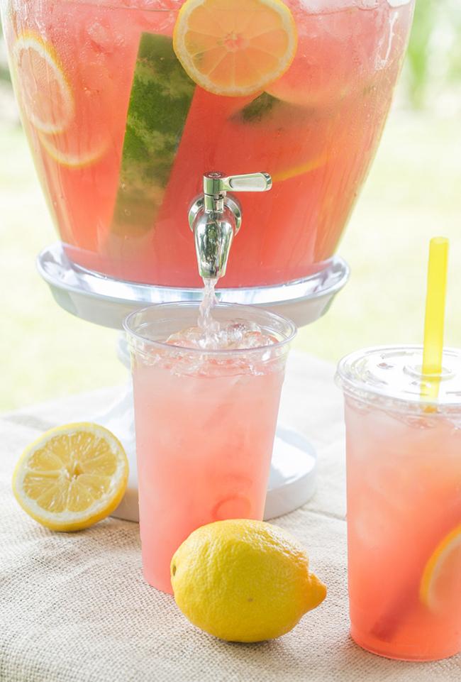 WatermelonLemonade1 Letnji napitak: Limunada od lubenice