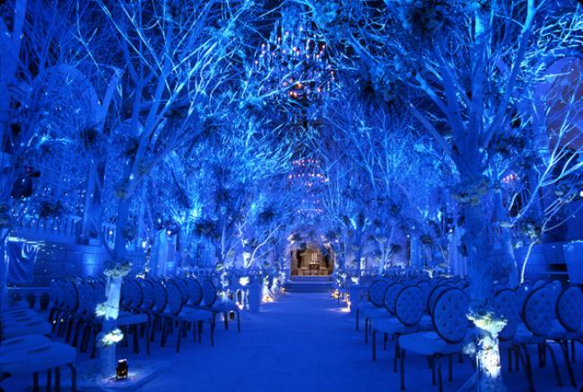 Winter Wonderland Ceremony Pet neobičnih ambijenata za nesvakidašnje venčanje