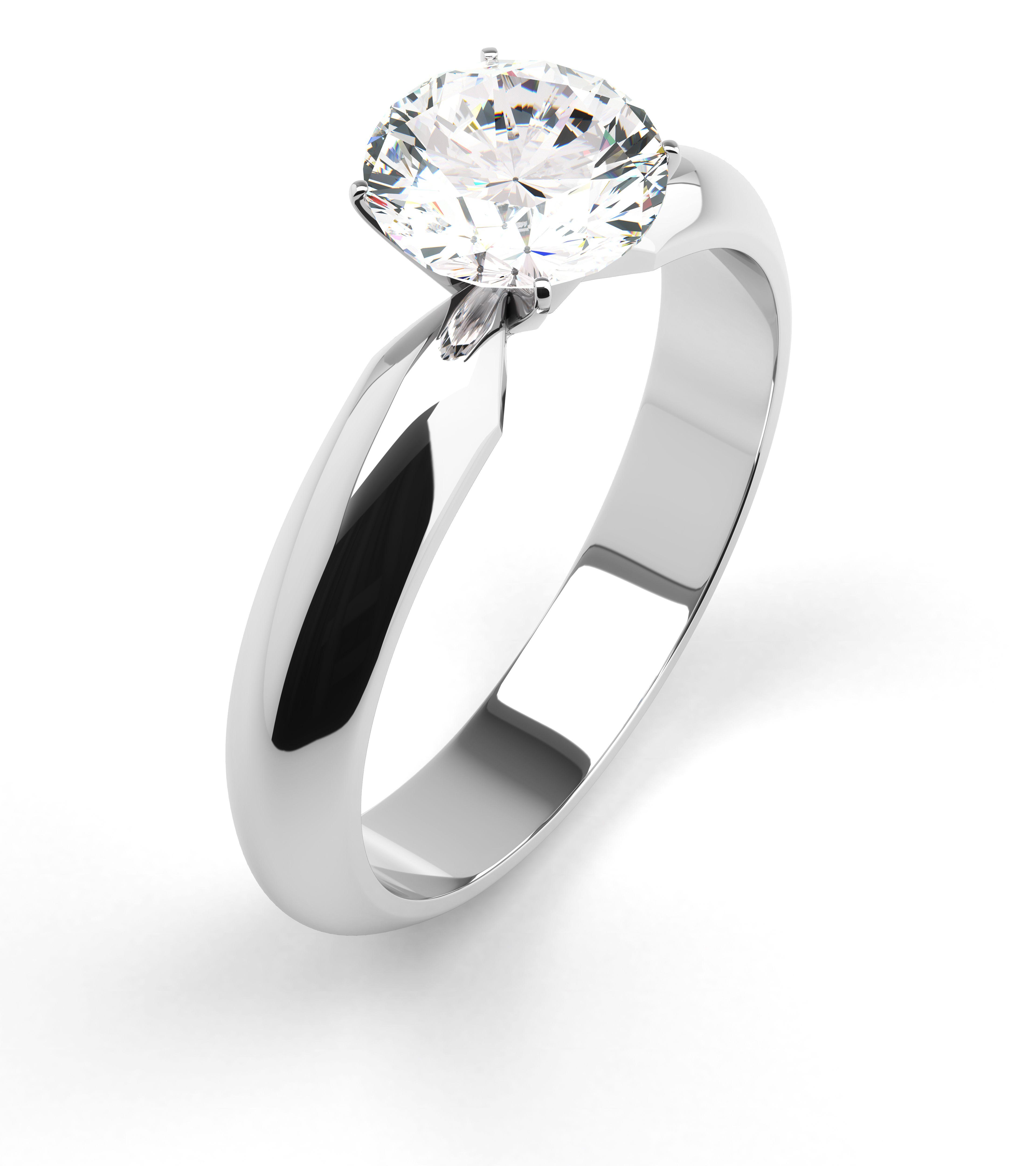 Zarucnicki prsten s dijamantom izradjen od 18 kt bijelog zlata Zlatarne Zaks mpc 80 00rsd. Brilijanti su uvek u trendu!