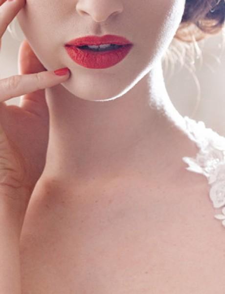 Na dan venčanja: Izaberi savršen karmin