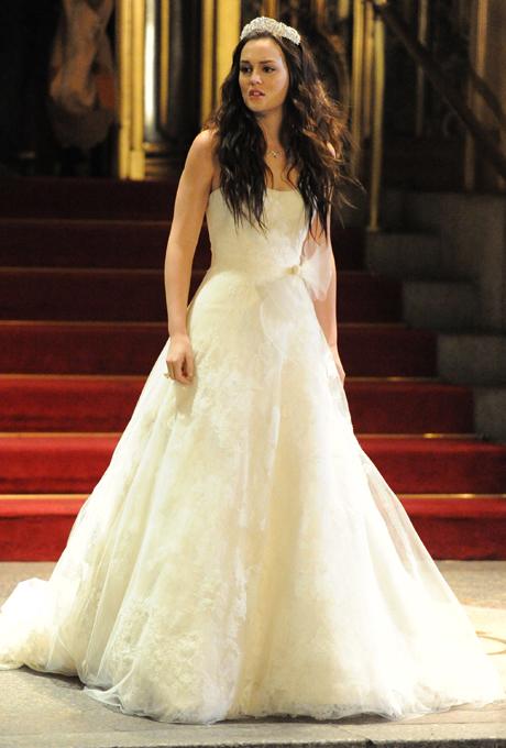 best tv wedding dresses Gossip girl blair vera wang Haljine za venčanja: Najlepše venčanice sa malih ekrana