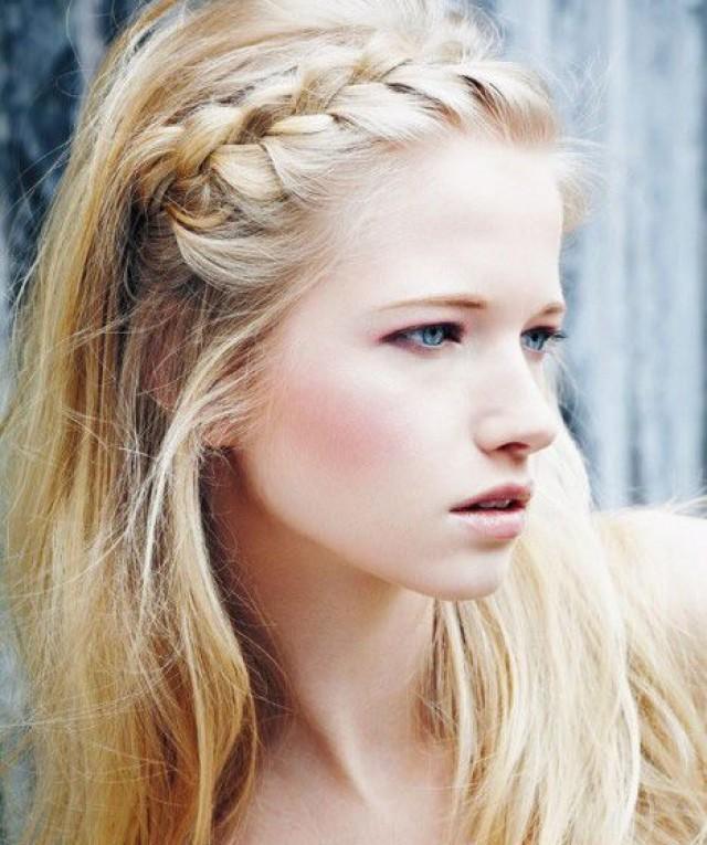 crown braid hair tutorial penteados hairstyle pinterest Romantične frizure: Jednostavne, a lepe pletenice