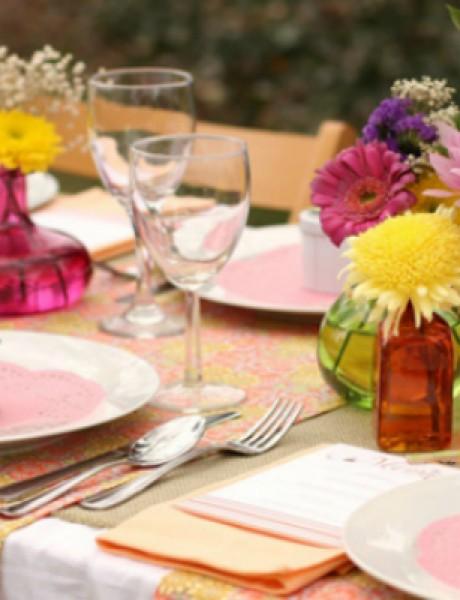 Pet predloga za skromno, ali idilično venčanje u bašti