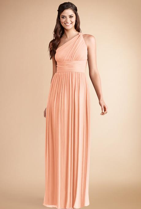 peach bridesmaid dresses donna morgan rachel Venčanje iz snova: Haljine za deveruše