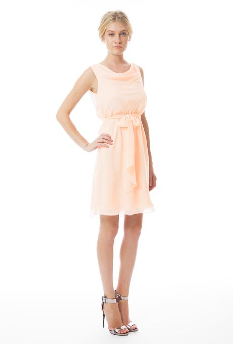 peach bridesmaid dresses joanna august Heather front Venčanje iz snova: Haljine za deveruše