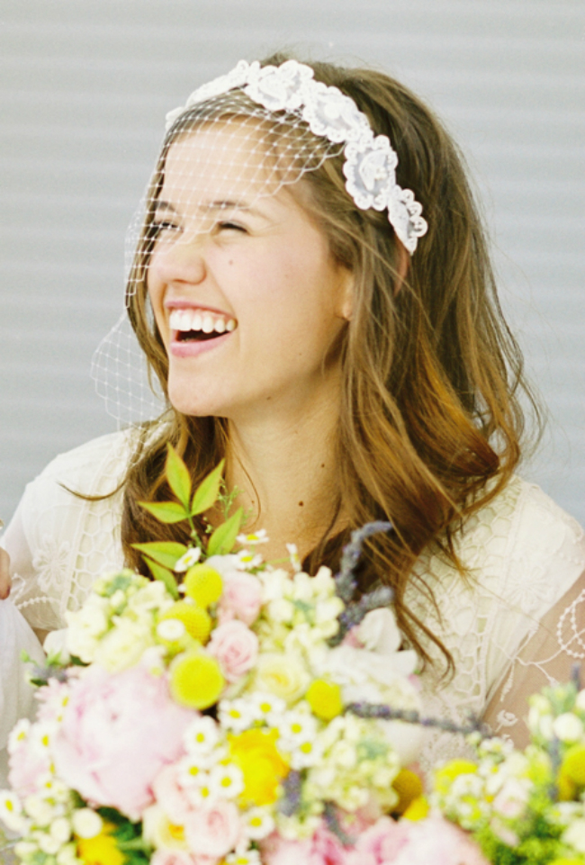 wedding hairstyles on pinterest cage veil Inspiracija sa Pinteresta: Predivne frizure za venčanje