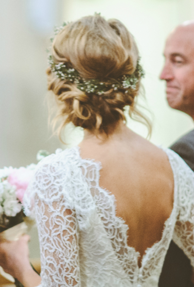 wedding hairstyles on pinterest vintage wreath bun Inspiracija sa Pinteresta: Predivne frizure za venčanje