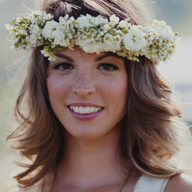 wedding hairstyles on pinterest waves flower crown Inspiracija sa Pinteresta: Predivne frizure za venčanje