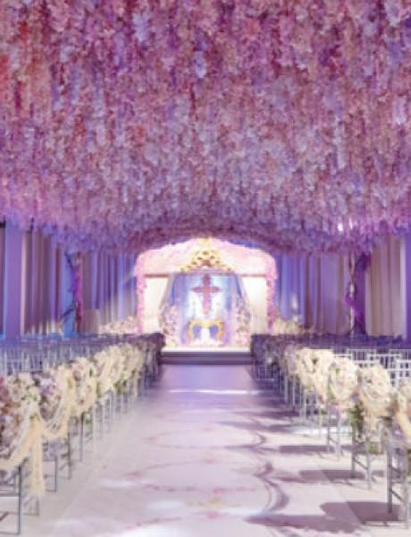 Bogate i nestvarne cvetne dekoracije