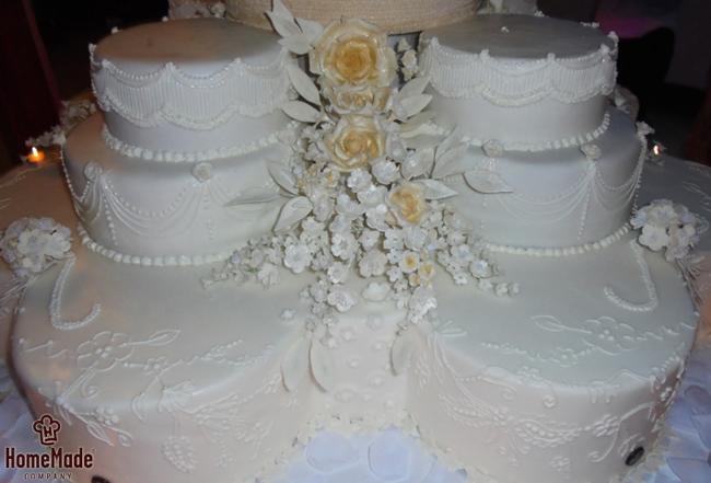 Home Made torta11 HomeMade na zadatku: Napraviti svadbenu tortu od 150kg!