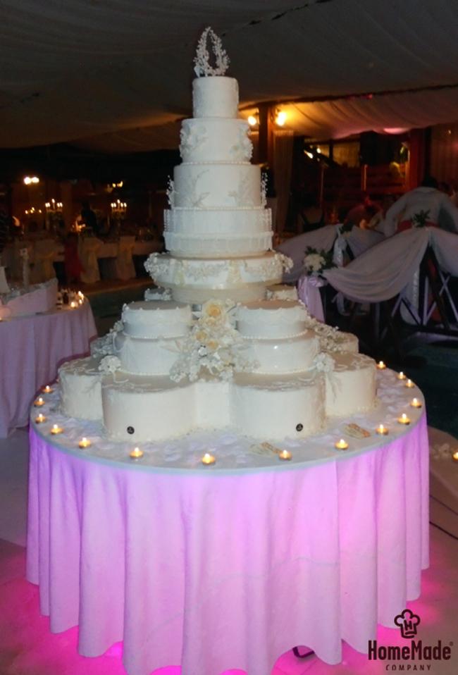 Home Made torta21 HomeMade na zadatku: Napraviti svadbenu tortu od 150kg!