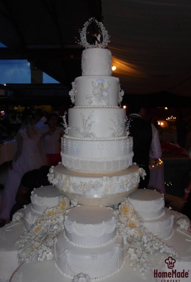 Home Made torta3 HomeMade na zadatku: Napraviti svadbenu tortu od 150kg!