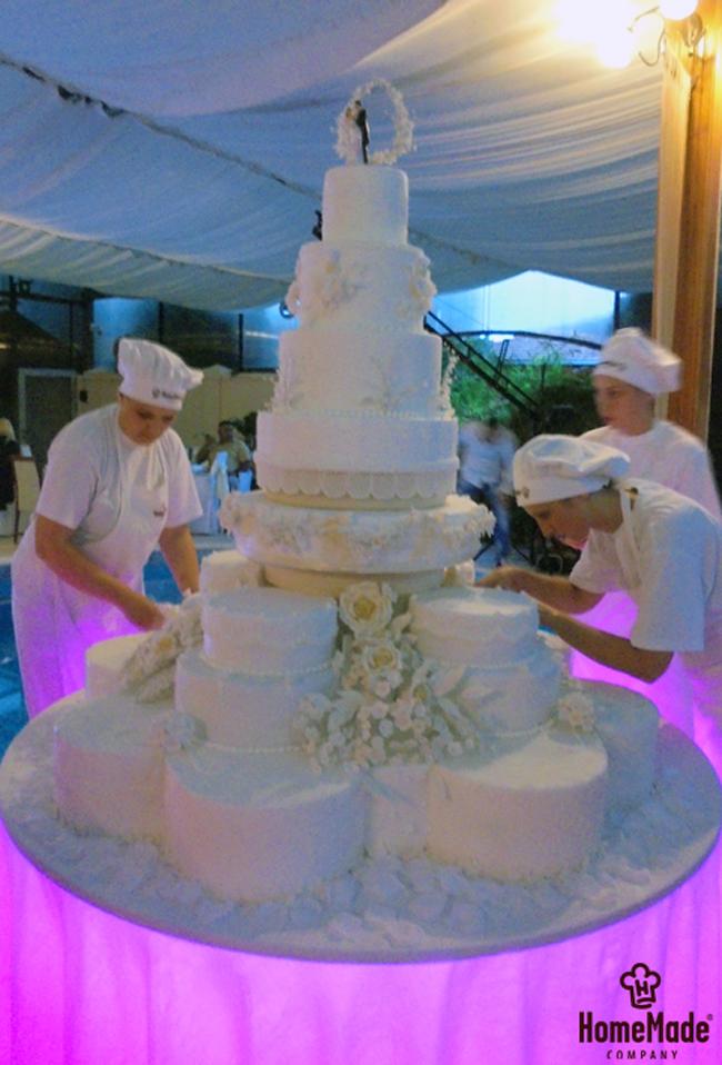 Home Made31 HomeMade na zadatku: Napraviti svadbenu tortu od 150kg!