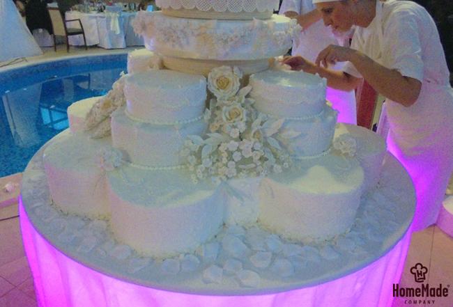 Home Made41 HomeMade na zadatku: Napraviti svadbenu tortu od 150kg!