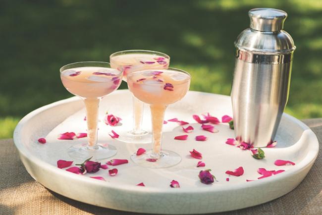 Koktel Letnje osveženje: Pink koktel