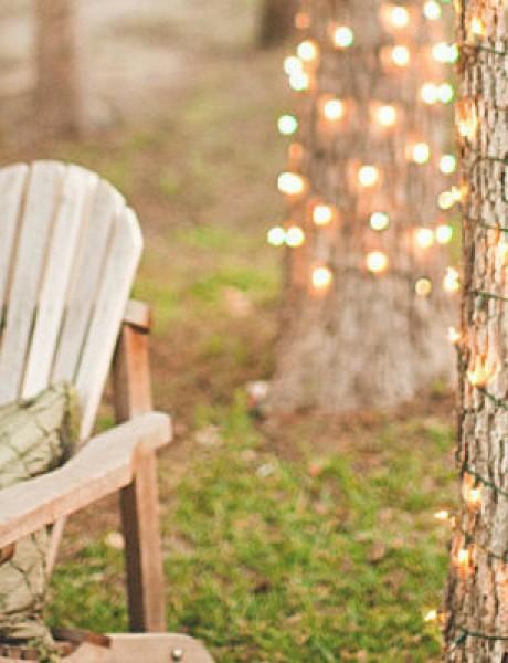 Novogodišnja dekoracija: Lampice za jelku