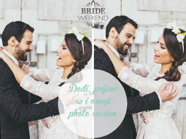 Wannabe Bride Vikend Osvoji photo session Wannabe Bride Vikend: Dođi, provedi se i osvoji!