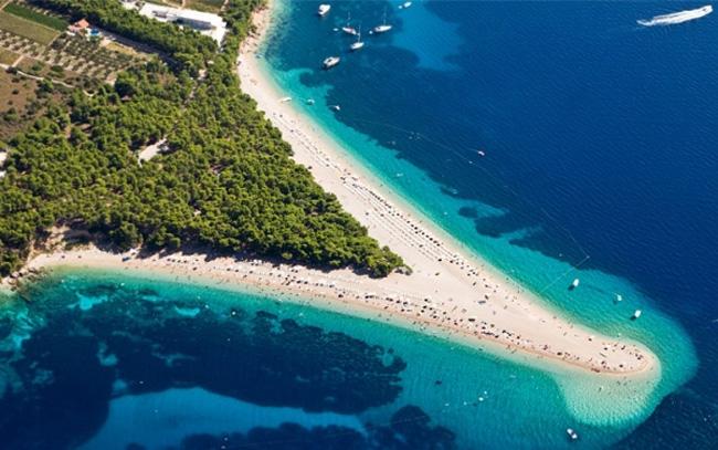 Zlatni Rat Medeni mesec: Pet najboljih plaža u Hrvatskoj