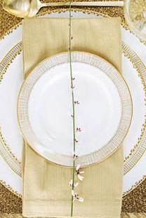 Svadbena dekoracija: Ideje za detalje u boji zlata