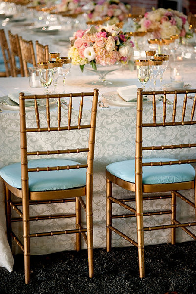 Zlatni detalji na svadbi2 Svadbena dekoracija: Ideje za detalje u boji zlata